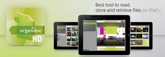 OrganiDoc HD – iPad File Manager and PDF Viewer