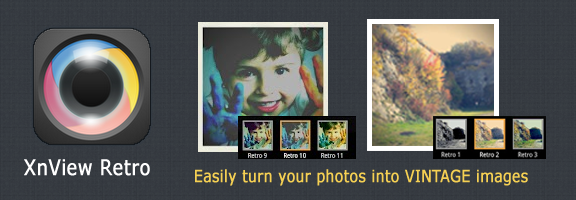 XnView Retro – For Stylish Vintage Images on Android