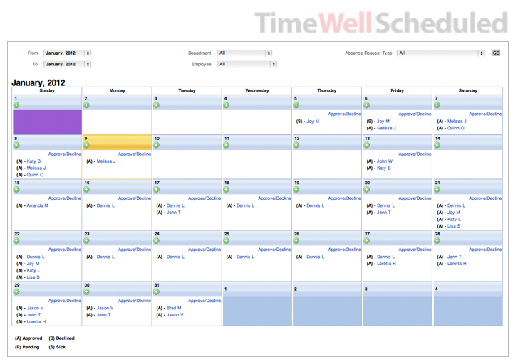 Timewellscheduled.com – Tracks your Employee's Punctuality