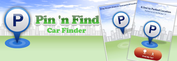 Pin'n Find – Car Finder: Car Tracking Made Easy