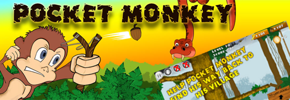 Pocket Monkey – Action Adventure Game with Fun