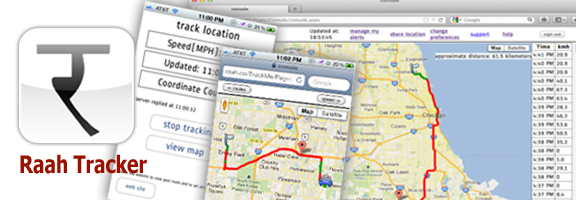 Raah Tracker – GPS Location Tracking System
