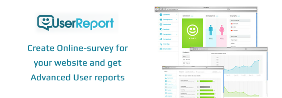 UserReport.com – Know What Others Thinks about Your Website