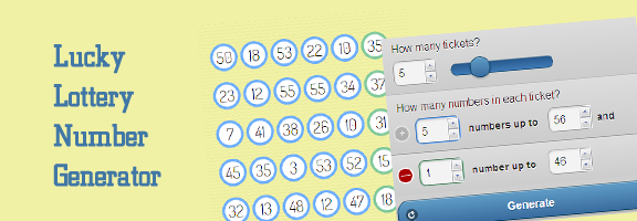 Lucky Lottery Number Generator - App to Decide your Luck - WebAppRater
