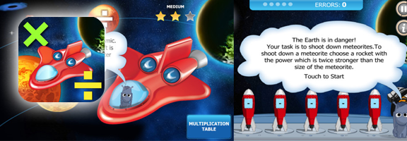 Space Mathematics iOS App – Learning is Fun