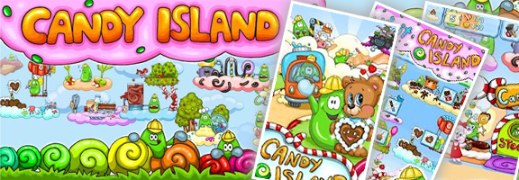 Candy Island – Build Your Own Candy Factory