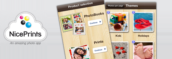 NicePrints – Your Albums in Seconds
