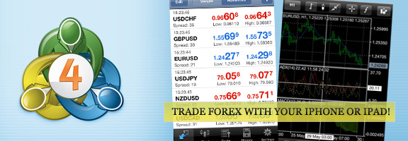 MetaTrader 4 – Forex Trading Made Easy on iOS Device