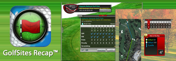 GolfSites Recap™ – Track & Share your Golf statistics for the iPad | A Success Guide