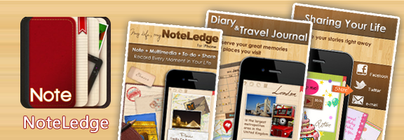 NoteLedge®- Your Very Own Mobile Journal