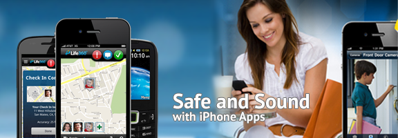Safe and Sound with iPhone Apps