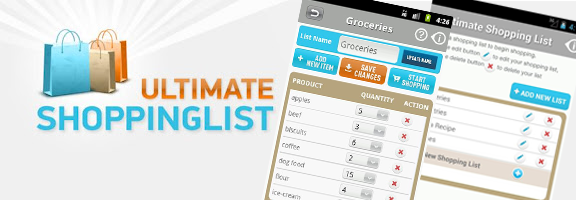 Ultimate Shopping List App – The Shopping IQ for Android Users