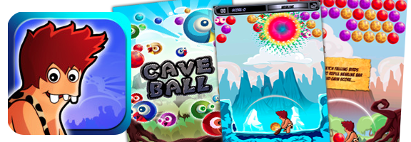 Caveball: Puzzle Game with a Prehistoric Touch