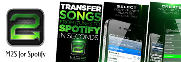 M2S for Spotify – Customizing Spotify for Music