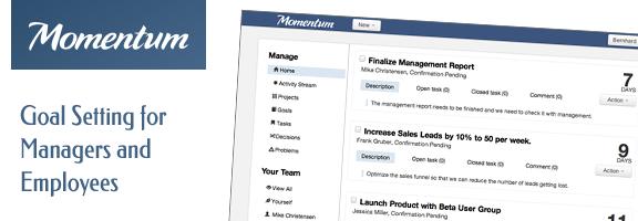 Getmomentum.com – Maintain Performance Momentum for your team