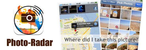Photo-Radar : iOS App to Mapping Out Your Photos