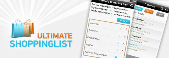 Ultimate Shopping List – Now You can Never Forget What You Need to Buy!