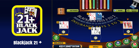 Blackjack 21 + Free Casino : Get Real Casino Experience