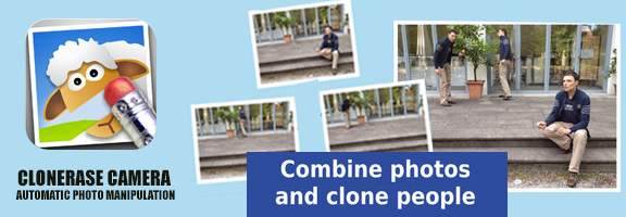 ClonErase Camera App : Turn into Automatic Photo Editing