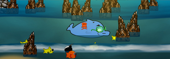 Beach Whale iOS Game – The Life of a Fish