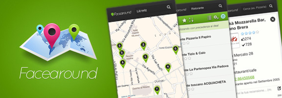 Faceround iOS App – Your Own Local Guide