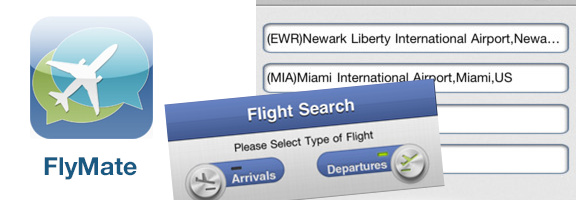 FlyMate iOS App : Your Personal Flight Planner