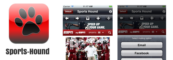 Sports-Hound – Don't miss a beat on all your favorite sports