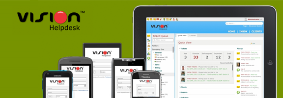 Vision Helpdesk – A Web Based Helpdesk Software