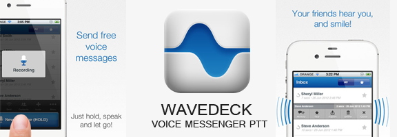 WaveDeck Voice Messenger PTT – The Carrier to Your Voice