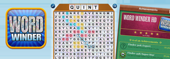 Word Winder HD : The Most Intriguing Word Game