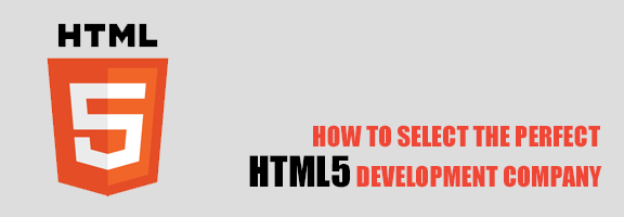 How to Select the Perfect HTML5 Development Company?