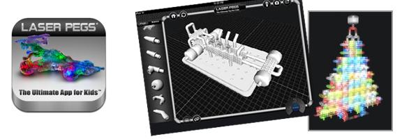 Laser Pegs for iPad – An App with a Creative Streak