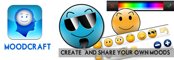Create All New Emoticons with CogniFit MoodCraft iOS App