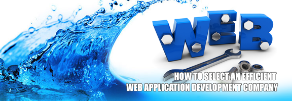 How to Select an Efficient Web Application Development Company