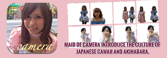 Maid de Camera: Create Pretty Photos with Maid Cos-players