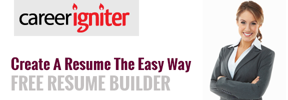 Careerigniter.com : The Free Professional Resume Builder