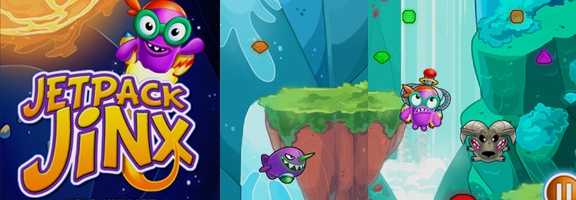 Jetpack Jinx : The iOS Game for the Adventurous