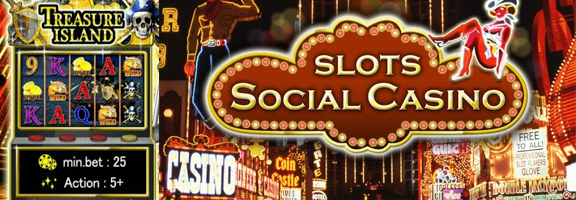 Social Slots Casino : Authentic 3D HD Casino with a Flavor of Social Networking