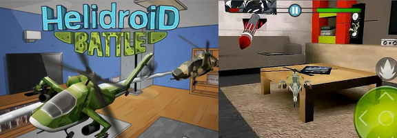 Helidroid Battle: 3D RC Copter- A New Level of Adventure