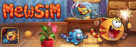 Mewsim : Exciting Simulator iOS Game