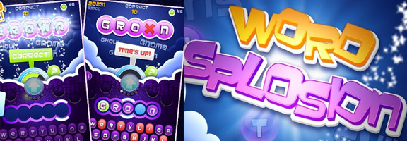 Wordsplosion : Fun Word Guessing Game on Android