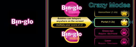 Bin-Glo : Combining Billiards and Physics