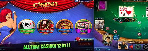 Casino Live App for iPhone Rebuilds Casino Magic in 12 Games