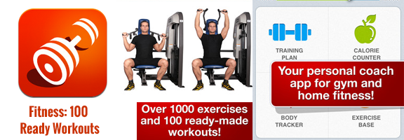 Fitness: 100 Ready Workouts – For Fitness Enthusiasts