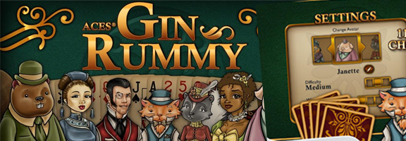 Aces Gin Rummy : Play it 'Traditional'