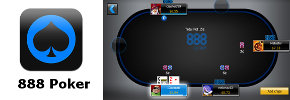 Get Ready to Game with 888poker Mobile HD