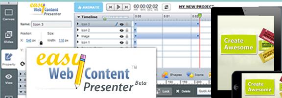Ewcpresenter.com : DIY Tool for Interactive Content Development