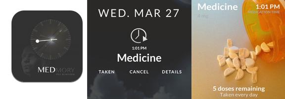 Let Medmory App Remember All Your Medicine Schedule