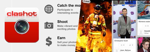 Clashot : Earning a Side Income with Photography