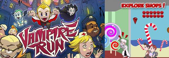 Vampire Run : An Arcade Type Running Game